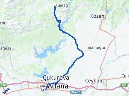 Adana Aladağ Arası Kaç Km Arası Kaç Km Saat? Nerede Yol Haritası Yakıt, Rota ve Mesafe Hesaplama