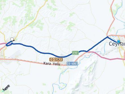 Adana Ceyhan Sarıçam Arası Kaç Km? Arası Kaç Km Saat? Nerede Yol Haritası Yakıt, Rota ve Mesafe Hesaplama