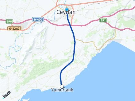 Adana Ceyhan Yumurtalık Arası Kaç Km? Arası Kaç Km Saat? Nerede Yol Haritası Yakıt, Rota ve Mesafe Hesaplama