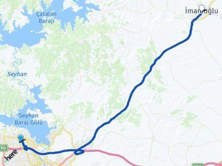 Adana Çukurova İmamoğlu Arası Kaç Km? Arası Kaç Km Saat? Nerede Yol Haritası Yakıt, Rota ve Mesafe Hesaplama