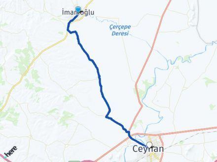 Adana İmamoğlu Ceyhan Arası Kaç Km? Arası Kaç Km Saat? Nerede Yol Haritası Yakıt, Rota ve Mesafe Hesaplama