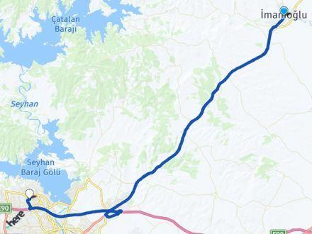 Adana İmamoğlu Çukurova Arası Kaç Km? Arası Kaç Km Saat? Nerede Yol Haritası Yakıt, Rota ve Mesafe Hesaplama