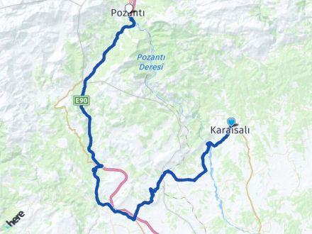 Adana Karaisalı Pozantı Arası Kaç Km? Arası Kaç Km Saat? Nerede Yol Haritası Yakıt, Rota ve Mesafe Hesaplama