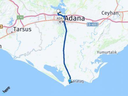 Adana Karataş Çukurova Arası Kaç Km? Arası Kaç Km Saat? Nerede Yol Haritası Yakıt, Rota ve Mesafe Hesaplama