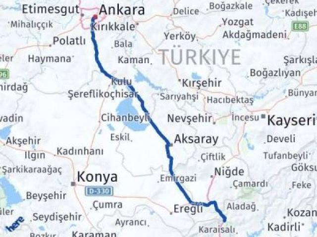 Adana Pozantı   Ankara Arası Kaç Km? Arası Kaç Km Saat? Nerede Yol Haritası Yakıt, Rota ve Mesafe Hesaplama