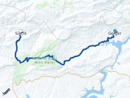 Adıyaman Gerger Sincik Arası Kaç Km? Arası Kaç Km Saat? Nerede Yol Haritası Yakıt, Rota ve Mesafe Hesaplama