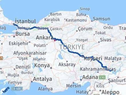 Adıyaman İstanbul Arası Kaç Km - Kaç Saat? Arası Kaç Km Saat? Nerede Yol Haritası Yakıt, Rota ve Mesafe Hesaplama