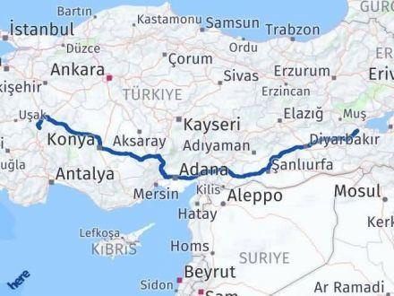 Afyon Bitlis Arası Kaç Km? Kaç Saat? - Km hesaplama Arası Kaç Km Saat? Nerede Yol Haritası Yakıt, Rota ve Mesafe Hesaplama