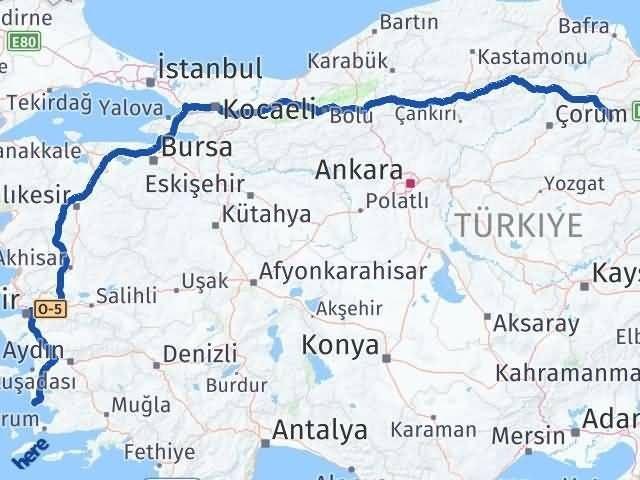 Amasya Didim Arası Kaç Km? Arası Kaç Km Saat? Nerede Yol Haritası Yakıt, Rota ve Mesafe Hesaplama