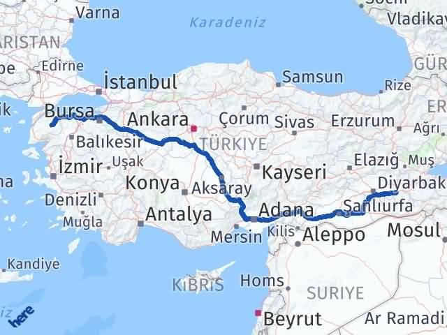 Batman Çan Çanakkale Arası Kaç Km? - Kmhesaplama.com Arası Kaç Km Saat? Nerede Yol Haritası Yakıt, Rota ve Mesafe Hesaplama