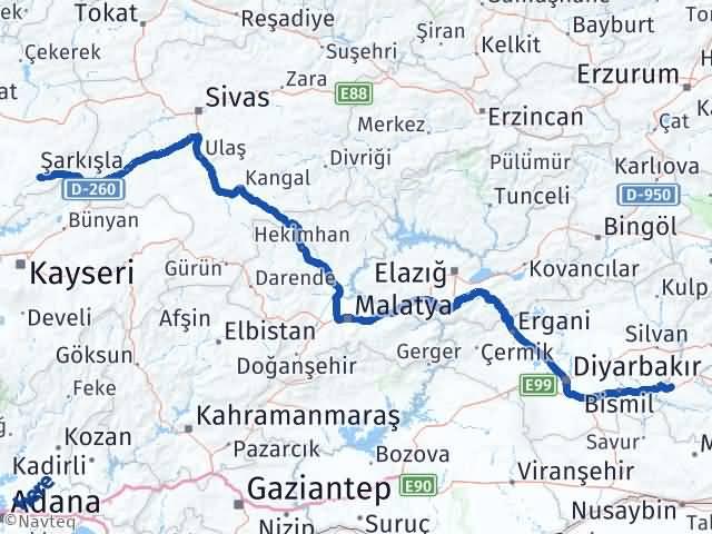 Batman Çayıralan Yozgat Arası Kaç Km? - Kmhesaplama.com Arası Kaç Km Saat? Nerede Yol Haritası Yakıt, Rota ve Mesafe Hesaplama