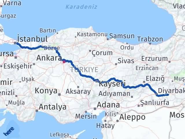 Batman Çekmeköy İstanbul Arası Kaç Km? - Kmhesaplama.com Arası Kaç Km Saat? Nerede Yol Haritası Yakıt, Rota ve Mesafe Hesaplama