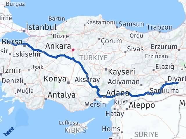 Batman Erdek Balıkesir Arası Kaç Km? - Kmhesaplama.com Arası Kaç Km Saat? Nerede Yol Haritası Yakıt, Rota ve Mesafe Hesaplama