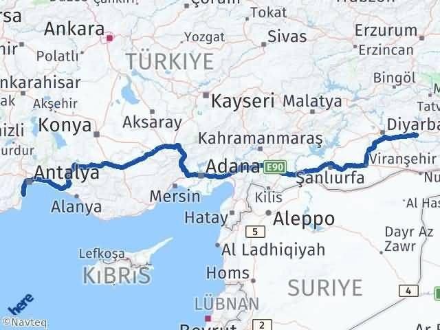 Batman Kemer Antalya Arası Kaç Km? - Kmhesaplama.com Arası Kaç Km Saat? Nerede Yol Haritası Yakıt, Rota ve Mesafe Hesaplama