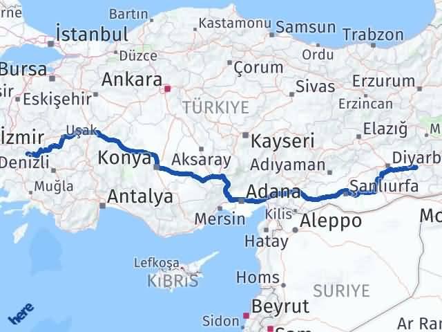 Batman Kiraz İzmir Arası Kaç Km? - Kmhesaplama.com Arası Kaç Km Saat? Nerede Yol Haritası Yakıt, Rota ve Mesafe Hesaplama