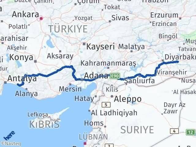 Batman Manavgat Antalya Arası Kaç Km? - Kmhesaplama.com Arası Kaç Km Saat? Nerede Yol Haritası Yakıt, Rota ve Mesafe Hesaplama