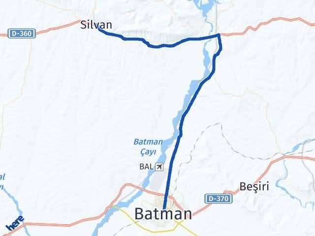 Batman Silvan Diyarbakır Arası Kaç Km? - Kmhesaplama.com Arası Kaç Km Saat? Nerede Yol Haritası Yakıt, Rota ve Mesafe Hesaplama