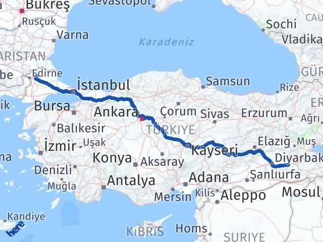 Batman Süloğlu Edirne Arası Kaç Km? - Kmhesaplama.com Arası Kaç Km Saat? Nerede Yol Haritası Yakıt, Rota ve Mesafe Hesaplama