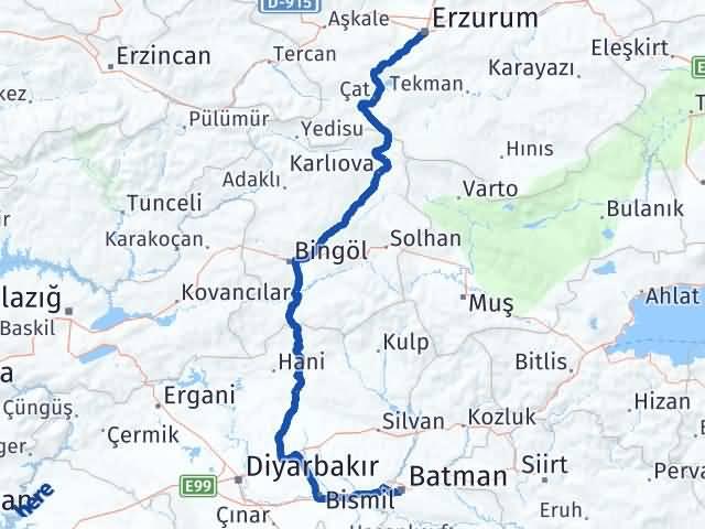 Batman Yakutiye Erzurum Arası Kaç Km? - Kmhesaplama.com Arası Kaç Km Saat? Nerede Yol Haritası Yakıt, Rota ve Mesafe Hesaplama