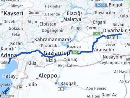 Batman Yumurtalık Adana Arası Kaç Km? - Kmhesaplama.com Arası Kaç Km Saat? Nerede Yol Haritası Yakıt, Rota ve Mesafe Hesaplama