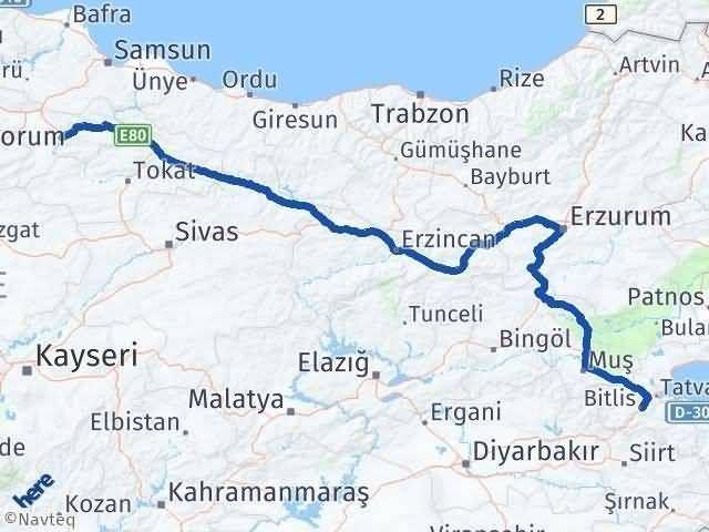 Bitlis ile Amasya Arası Kaç Km? Kaç Saat? - Kmhesaplama.com Arası Kaç Km Saat? Nerede Yol Haritası Yakıt, Rota ve Mesafe Hesaplama