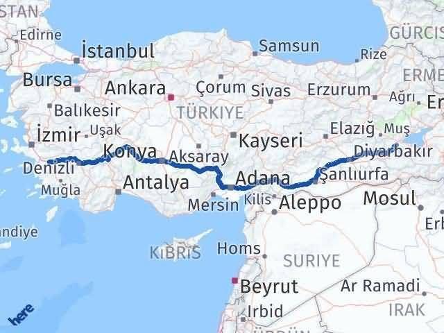 Bitlis ile Aydın Arası Kaç Km? Kaç Saat? - Kmhesaplama.com Arası Kaç Km Saat? Nerede Yol Haritası Yakıt, Rota ve Mesafe Hesaplama