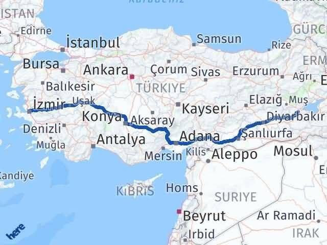 Bitlis ile İzmir Arası Kaç Km? Kaç Saat? - Kmhesaplama.com Arası Kaç Km Saat? Nerede Yol Haritası Yakıt, Rota ve Mesafe Hesaplama