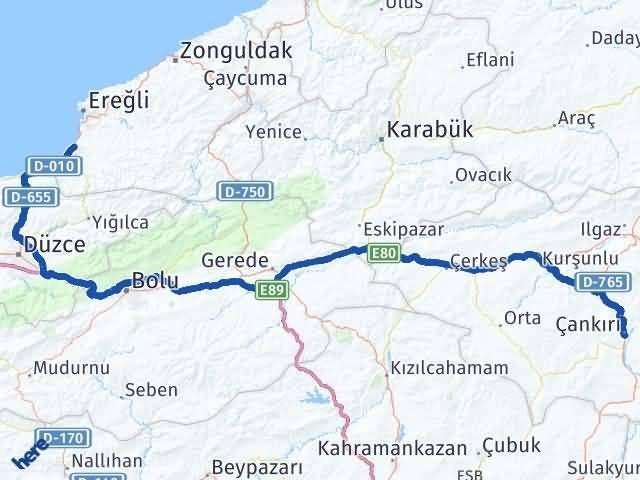 Çankırı Alaplı Zonguldak Arası Kaç Km? - Kmhesaplama.com Arası Kaç Km Saat? Nerede Yol Haritası Yakıt, Rota ve Mesafe Hesaplama