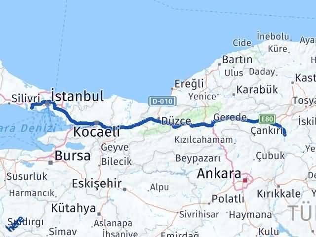 Çankırı Beylikdüzü İstanbul Arası Kaç Km? - Kmhesaplama.com Arası Kaç Km Saat? Nerede Yol Haritası Yakıt, Rota ve Mesafe Hesaplama