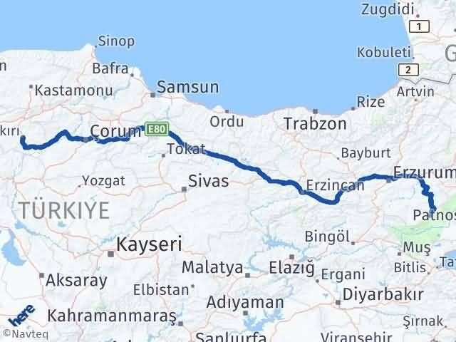 Çankırı Karaçoban Erzurum Arası Kaç Km? - Kmhesaplama.com Arası Kaç Km Saat? Nerede Yol Haritası Yakıt, Rota ve Mesafe Hesaplama