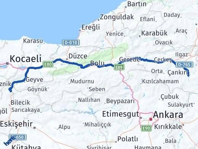 Çankırı Osmaneli Bilecik Arası Kaç Km? - Kmhesaplama.com Arası Kaç Km Saat? Nerede Yol Haritası Yakıt, Rota ve Mesafe Hesaplama