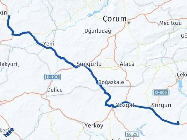 Çankırı Saraykent Yozgat Arası Kaç Km? - Kmhesaplama.com Arası Kaç Km Saat? Nerede Yol Haritası Yakıt, Rota ve Mesafe Hesaplama