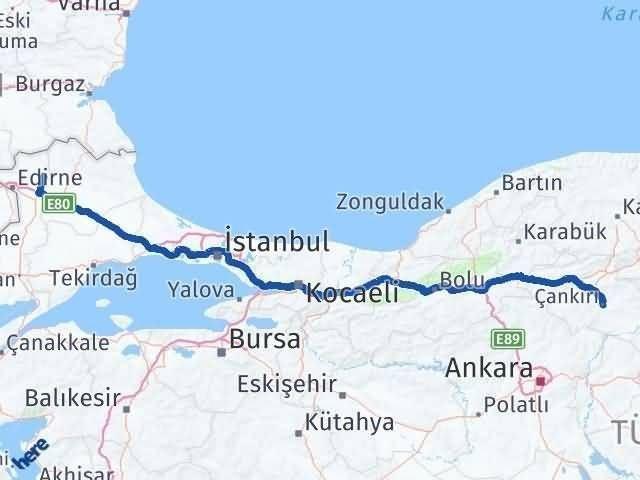 Çankırı Süloğlu Edirne Arası Kaç Km? - Kmhesaplama.com Arası Kaç Km Saat? Nerede Yol Haritası Yakıt, Rota ve Mesafe Hesaplama