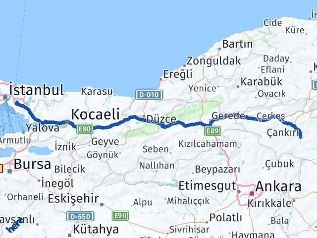 Çankırı Ümraniye İstanbul Arası Kaç Km? - Kmhesaplama.com Arası Kaç Km Saat? Nerede Yol Haritası Yakıt, Rota ve Mesafe Hesaplama