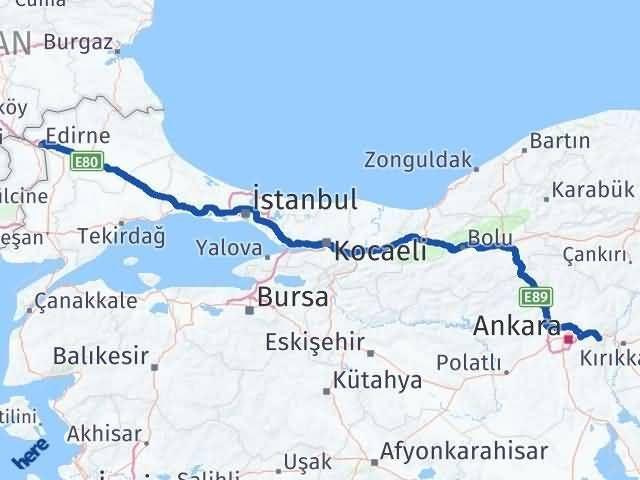 Edirne Elmadağ Ankara Arası Kaç Km? - Kmhesaplama.com Arası Kaç Km Saat? Nerede Yol Haritası Yakıt, Rota ve Mesafe Hesaplama