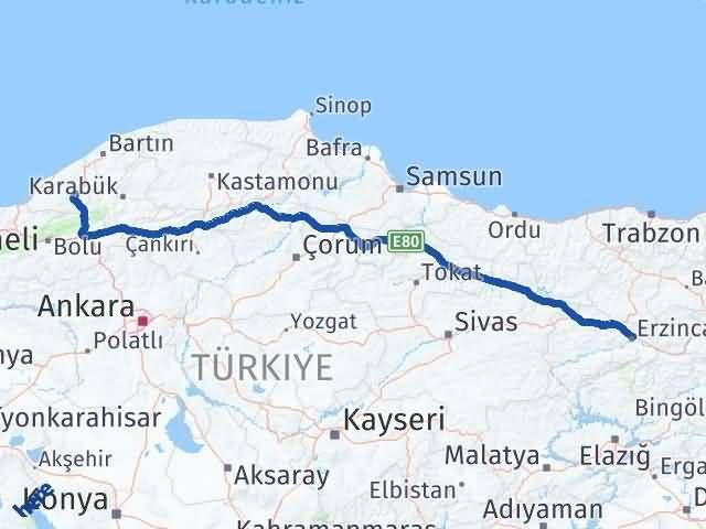 Erzincan Devrek Zonguldak Arası Kaç Km? - Kmhesaplama.com Arası Kaç Km Saat? Nerede Yol Haritası Yakıt, Rota ve Mesafe Hesaplama