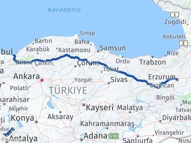 Erzurum Akçakoca Düzce Arası Kaç Km? - Kmhesaplama.com Arası Kaç Km Saat? Nerede Yol Haritası Yakıt, Rota ve Mesafe Hesaplama