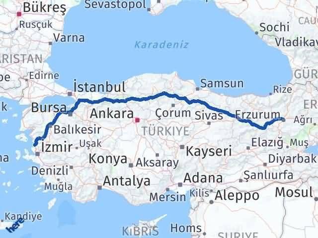 Erzurum Aliağa İzmir Arası Kaç Km? - Kmhesaplama.com Arası Kaç Km Saat? Nerede Yol Haritası Yakıt, Rota ve Mesafe Hesaplama