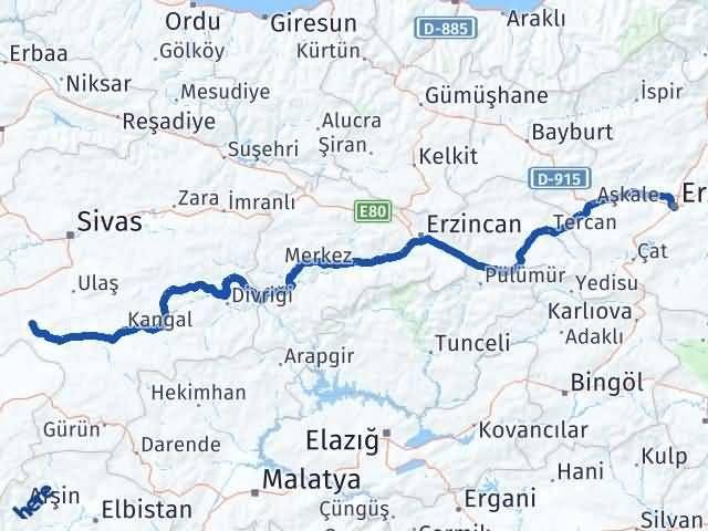 Erzurum Altınyayla Sivas Arası Kaç Km? - Kmhesaplama.com Arası Kaç Km Saat? Nerede Yol Haritası Yakıt, Rota ve Mesafe Hesaplama