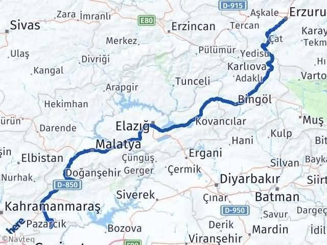 Erzurum Araban Gaziantep Arası Kaç Km? - Kmhesaplama.com Arası Kaç Km Saat? Nerede Yol Haritası Yakıt, Rota ve Mesafe Hesaplama
