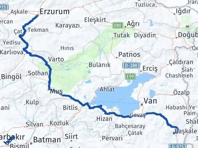 Erzurum Başkale Van Arası Kaç Km? - Kmhesaplama.com Arası Kaç Km Saat? Nerede Yol Haritası Yakıt, Rota ve Mesafe Hesaplama