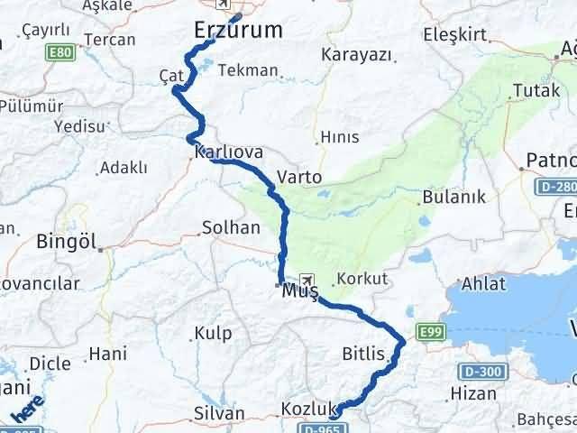 Erzurum Baykan Siirt Arası Kaç Km? - Kmhesaplama.com Arası Kaç Km Saat? Nerede Yol Haritası Yakıt, Rota ve Mesafe Hesaplama