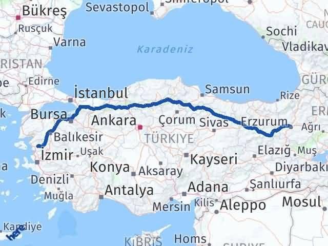 Erzurum Bergama İzmir Arası Kaç Km? - Kmhesaplama.com Arası Kaç Km Saat? Nerede Yol Haritası Yakıt, Rota ve Mesafe Hesaplama