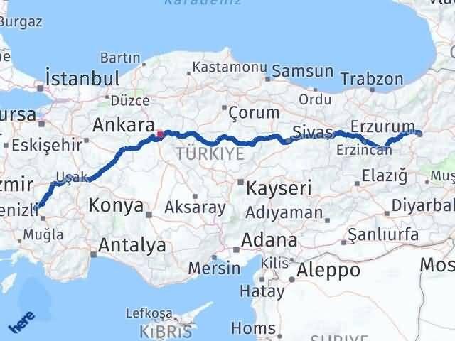 Erzurum Buldan Denizli Arası Kaç Km? - Kmhesaplama.com Arası Kaç Km Saat? Nerede Yol Haritası Yakıt, Rota ve Mesafe Hesaplama