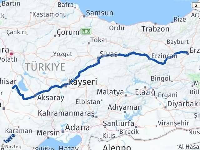 Erzurum Cihanbeyli Konya Arası Kaç Km? - Kmhesaplama.com Arası Kaç Km Saat? Nerede Yol Haritası Yakıt, Rota ve Mesafe Hesaplama