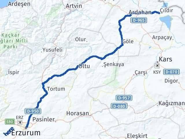 Erzurum Çıldır Ardahan Arası Kaç Km? - Kmhesaplama.com Arası Kaç Km Saat? Nerede Yol Haritası Yakıt, Rota ve Mesafe Hesaplama