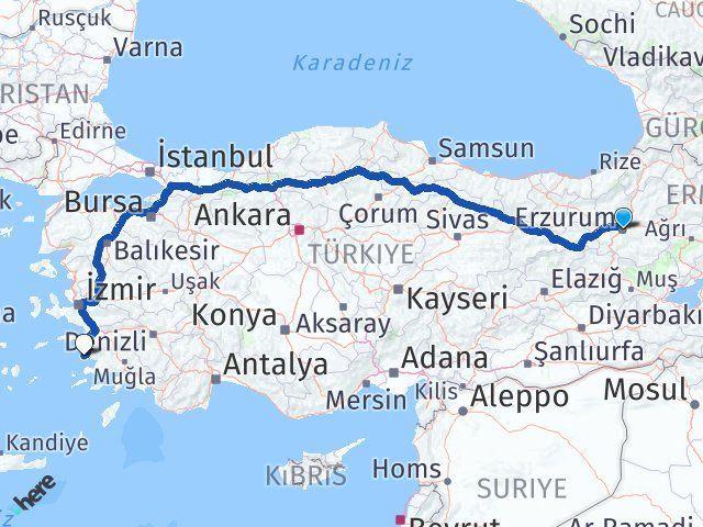 Erzurum Didim Aydın Arası Kaç Km? - Kmhesaplama.com Arası Kaç Km Saat? Nerede Yol Haritası Yakıt, Rota ve Mesafe Hesaplama