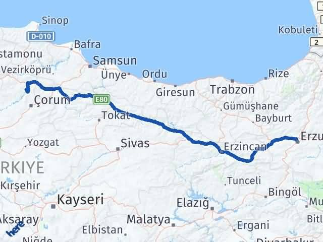 Erzurum Dodurga Çorum Arası Kaç Km? - Kmhesaplama.com Arası Kaç Km Saat? Nerede Yol Haritası Yakıt, Rota ve Mesafe Hesaplama