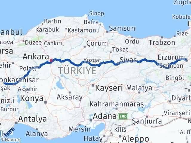 Erzurum Dumlupınar Kütahya Arası Kaç Km? - Kmhesaplama.com Arası Kaç Km Saat? Nerede Yol Haritası Yakıt, Rota ve Mesafe Hesaplama