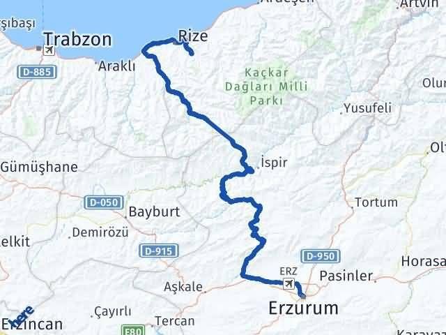 Erzurum Güneysu Rize Arası Kaç Km? - Kmhesaplama.com Arası Kaç Km Saat? Nerede Yol Haritası Yakıt, Rota ve Mesafe Hesaplama